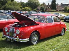 Jaguar MK2 Saloon (Megashorts) Tags: uk red england car pen olympus hampshire mk2 motor jaguar saloon beaulieu mkii ep1 2011 mk1 mki mzd 1442mm ppdcb4