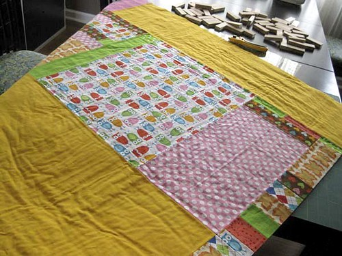 90 degree quilt back