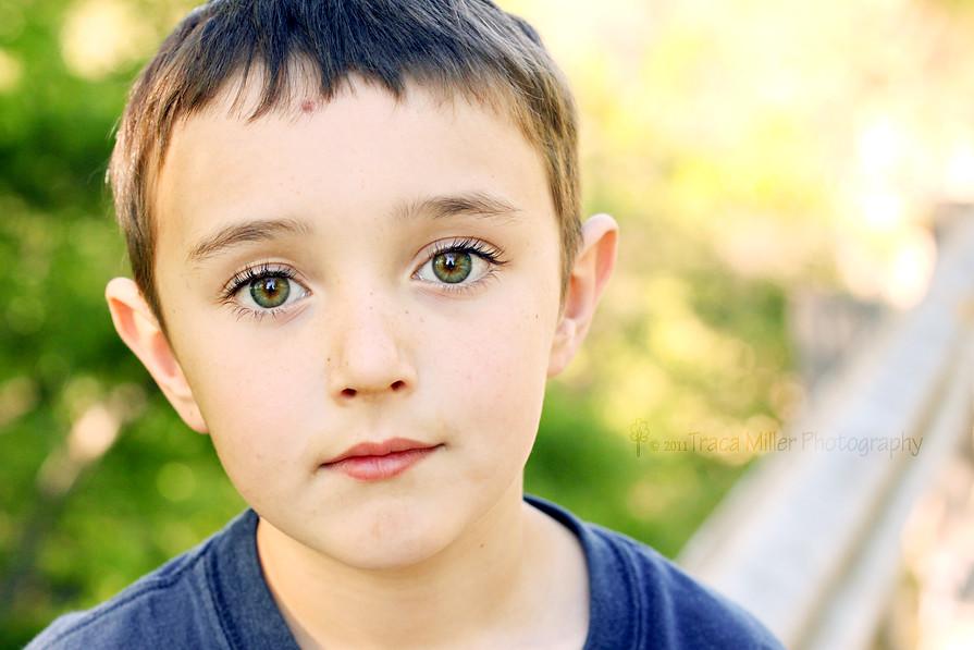 Dalton's eyelashes
