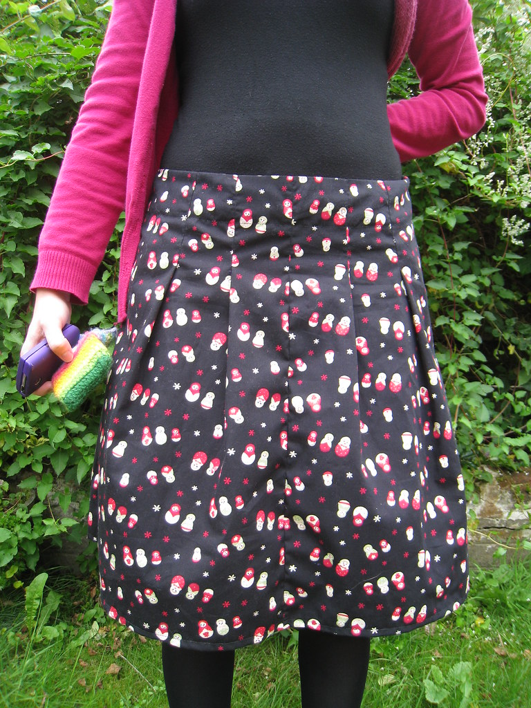 Russian dolls skirt