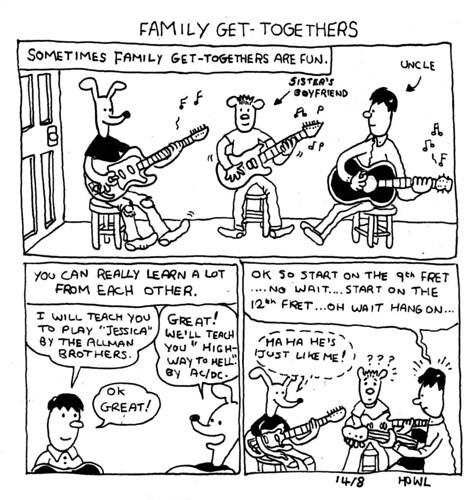 get-togethers by Howl's Illustration