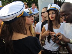Street Parade 2011 - Zurich - in the navy