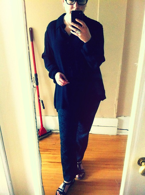 semi-casual funeral attire for my pap smear appointment