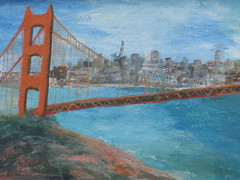 Postcard from Marin (dschweisguth) Tags: sanfrancisco mural foundinsf