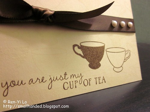 You Are Just My Cup of Tea