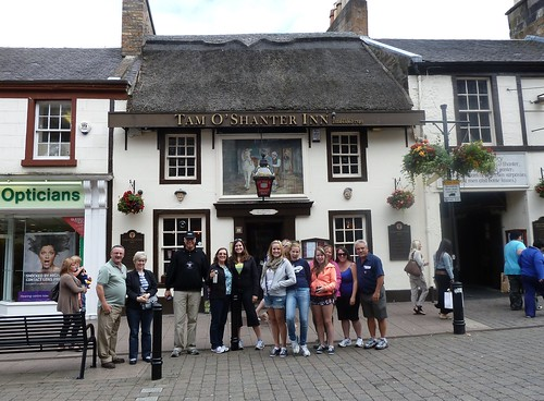 Tour Group at Tam o Shanter Pub