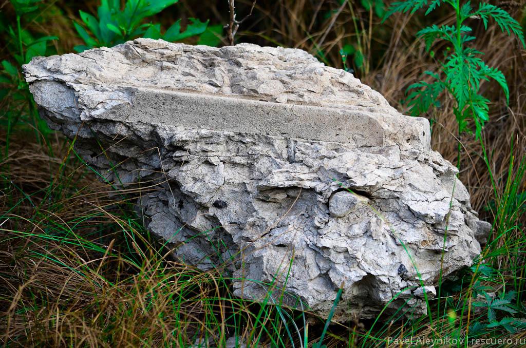 Кусок бетона