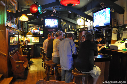 Bar Area at Irish Times ~ Brookfield, IL