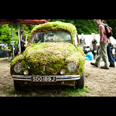 Beetle @ The Belladrum Festival (PMMPhoto) Tags: green car festival vw 50mm scotland moss nikon  beetle ferns nkkor paulmcgee donotusewithoutpriorpermission pmmphoto
