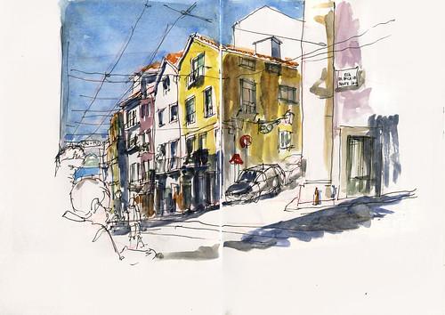 10_Fri23 03 Contrastes Rua da Bica view