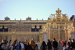 Grilles de Versailles 3 (WhiteFlowersFade) Tags: voyage travel paris france castle nikon versailles chteau d40x 55200mmvr