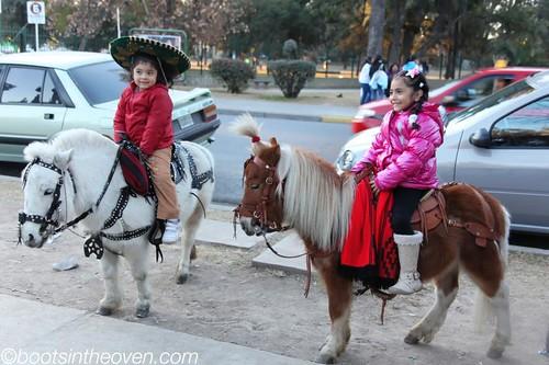 Adorable ponies/children