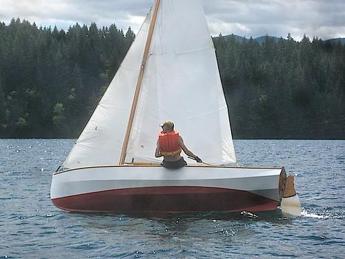 bc vancouverisland sail woodenboat cowichanlake michelgaudin paulgartside jespersenboatbuilders gartsidedesign