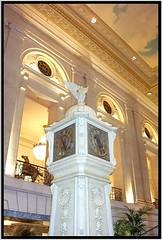 Hilton Chicago [Stevens Hotel] ~ Chicago IL ~ Clock ~ Ballroom Lobby
