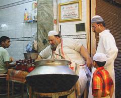Father - Son & The Biriyani Seller of Purani Delli (Monsoon Lover) Tags: india history flickr emotion delhi culture tradition deb biriyani jamamasjid fatherson radhika olddelhi mughal parna meenabazar ritwik sudipguharay puranidelhi matiamahal sahjahanabad zananameanswomen gaalimeanslane ilovepuranidelhi