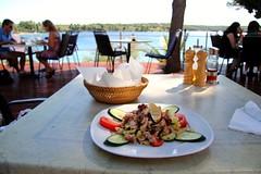 octopus salad (Sanjaaa) Tags: salad croatia octopus bra milna