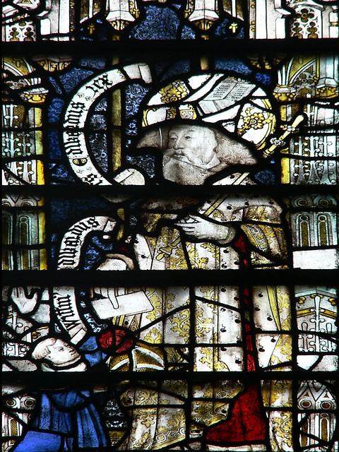 medieval stained glass, Edward the Confessor