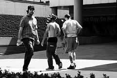 "My ""Facing the World"" Rant #557 (Allan H.) Tags: canada central streetphotography urbanphotography hamiltonontario spnp streetphotographynowproject modesofflight allanhamilton themofman steeltownneighbourhoods"