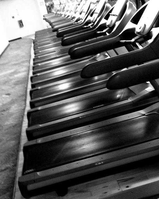 Treadmills at Gym
