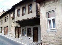 sarajevo.. (raihane-h) Tags: street old house architecture ruins war europe sarajevo bosnia balkans coffeehouse easterneurope