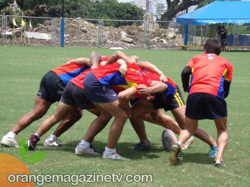 Philippine Volcanoes Rugby Team - Training 01