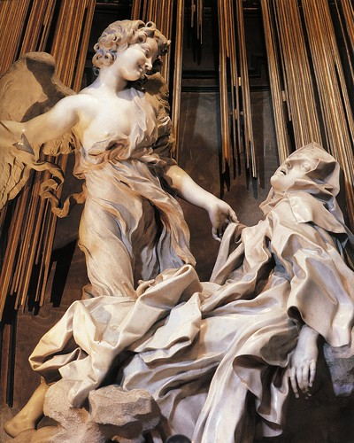 Bernini, Ecstacy of St.Theresa, 1645-52 (detail)