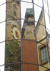Reflections - Stuttgart (Rainer Fritz) Tags: reflections germany stuttgart stiftskirche reflektionen abigfave