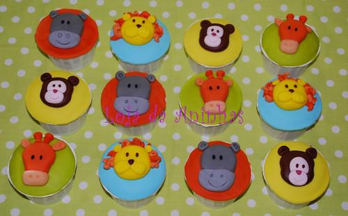 Cupcakes animais by Aninhas_lisboa