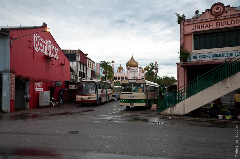 Автостанция в Кучинге