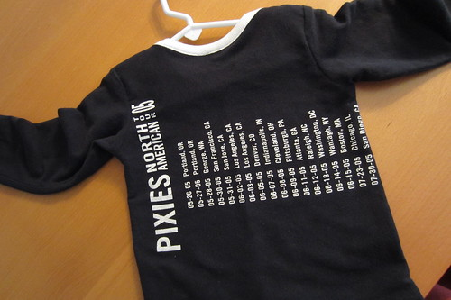 Refashioning Daddy's Old T-shirts -