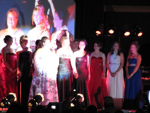 Crowning of the 2011 Princess Kay of the Milky Way - Mary Zahurones
