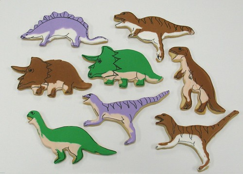 [Image from Flickr]:Jurassic park cookies
