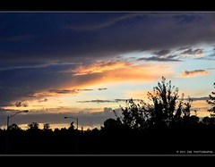 Sunset from PK Park (JSB PHOTOGRAPHS) Tags: from park sunset nikon stadium pk nikkor autzen 18200mm d90