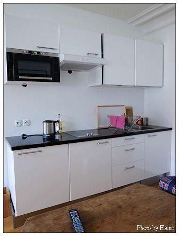 瑪黑公寓的廚房