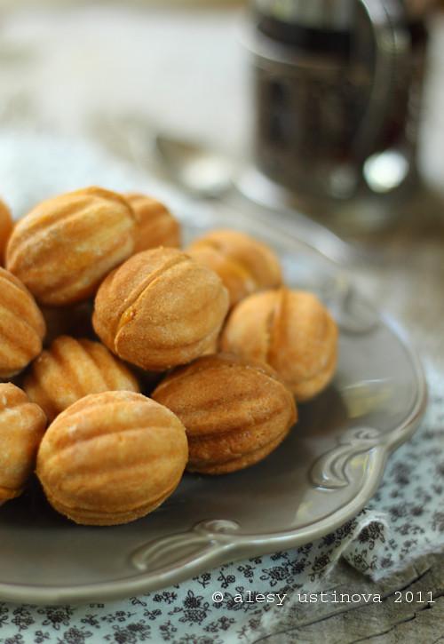 Как заводить тесто на орешки со сгущенкой рецепт пошагово