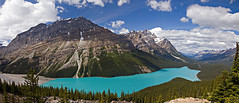 The magnificent colors of Peyto Lake (Patrick Berden) Tags: canada peytolake 2011 banffnp