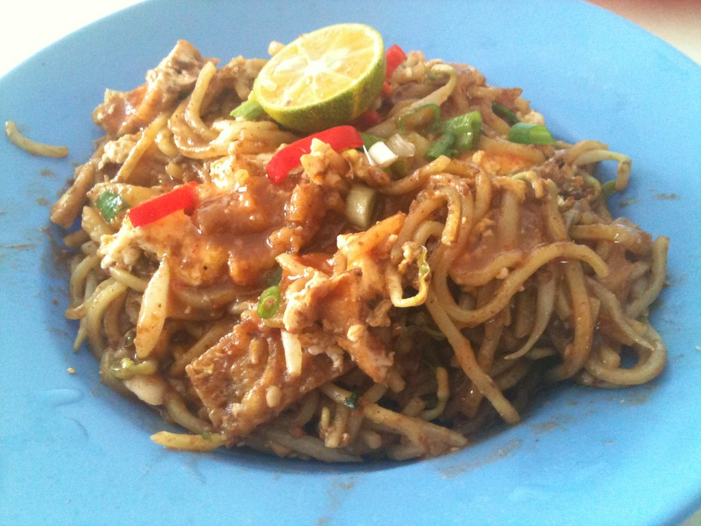 Mee Goreng At Sungai Bakap