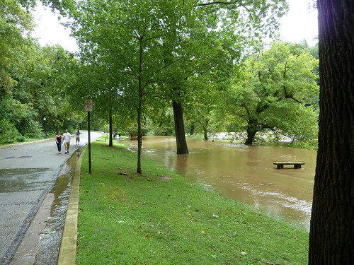 Hurricane Irene Brandywine park flooding Wilmington Delaware