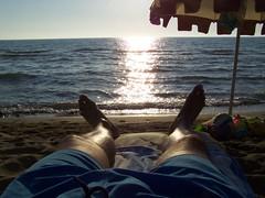 2011-08-17--185748-Giannella (MicdeF) Tags: riposo michele ombrellone giannella