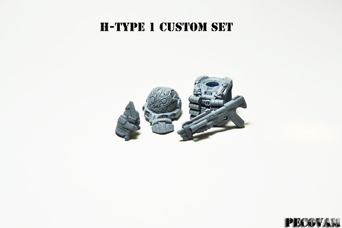 Custom minifig H-Type 1 Custom Set