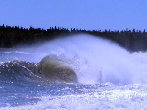 Bay of Fundy Tidal Surge after Hurricane Irene