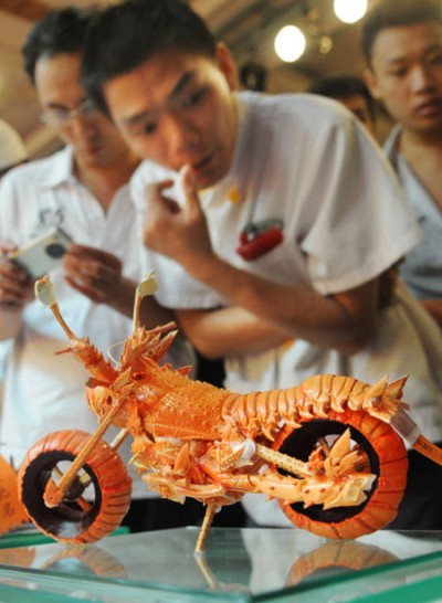 Lobster Motorcycle Dish