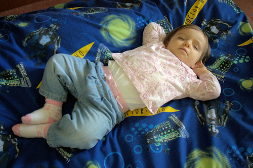 Amélie Sleeping