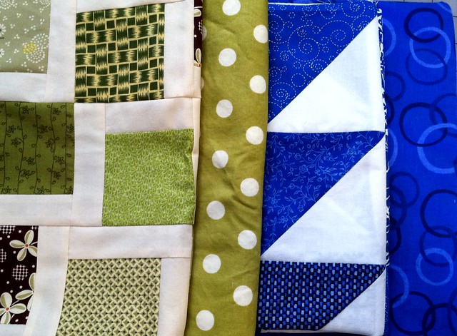 To quilt and bind