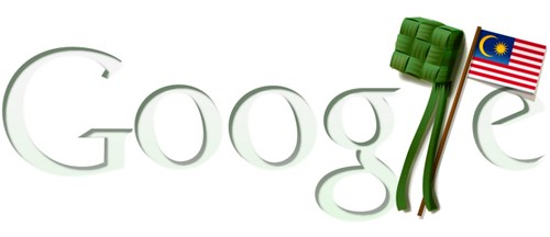 Google Doodle Merdeka Raya