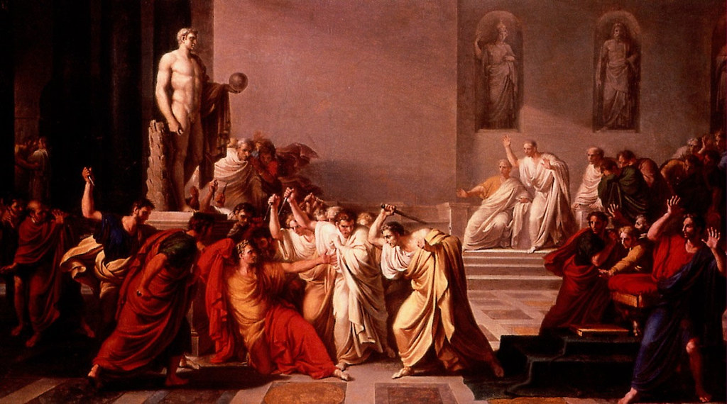Camuccini, Vicenzo (1771-1844) - 1798 The Death of Caesar