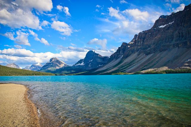 Lago Bow, por @drobles