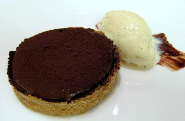 Chocolate Tart Michel Chaudon: