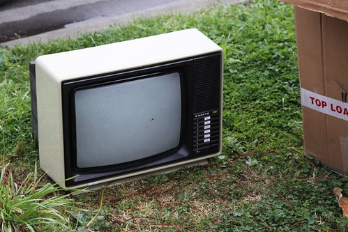 Spotted: CRT television number 8
