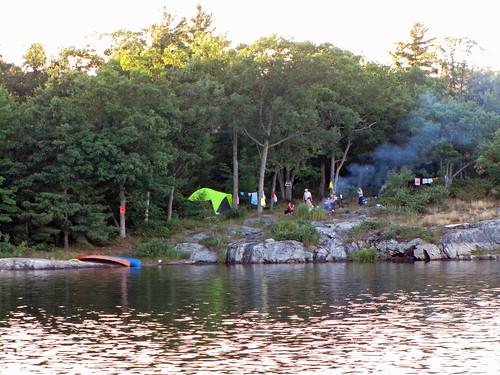 The Massasauga Provincial Park, Ontario, Campsite #508